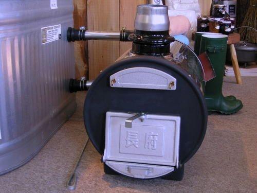 Θερμοσίφωνας ξύλου κατάλληλος για τζακούζι