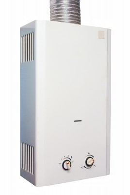 Οικολογικός θερμοσίφωνας που λειτουργεί με υγραέριο